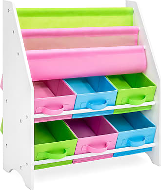 Best Choice Products Kids Toy and Book Storage Organizer Rack w/ 6 Bins - Multicolor