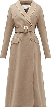 Gabriela Hearst Joaquin Double-breasted Belted Cashmere Coat - Womens - Ivory