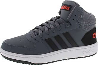 super popular 7f5b7 7bc1f adidas Mens Hoops 2.0 Mid Basketball Shoes, Blue Onix Cblack Hirere 10 UK