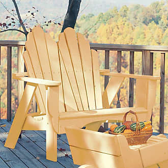 UWharrie Chair Outdoor Uwharrie Fanback Two-Seater Adirondack Settee - 075-4051-074P