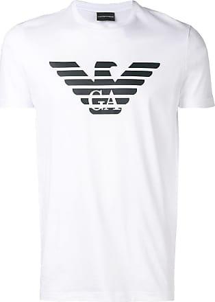 Emporio Armani printed logo T-shirt - White