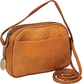 David King & Co. Top Zip Mini Bag 517, Tan, One Size