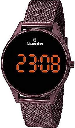 Champion Relogio Feminino Champion Digital Marrom CH40133R