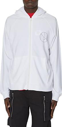 Undercover Undercover New warriors zip hooded sweatshirt WHITE M