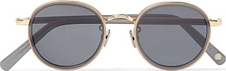 2f55f70e8a7 Cubitts Gifford Round-frame Acetate And Gold-tone Sunglasses - Gold