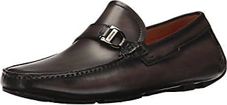 Magnanni Mens Dallas Slip-On Loafer Grey 8.5 M US
