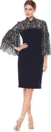 Eliza J Womens Long Sleeve Dress with Side Gathering