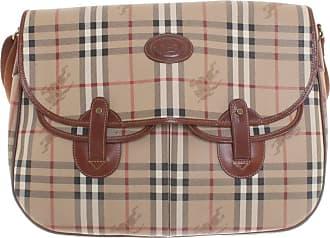 51df09b4b3910 Burberry gebraucht - Handtasche mit Nova-Check Muster - Damen - Beige