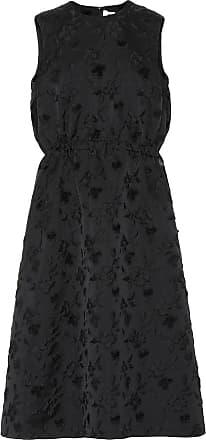Comme Des Garçons Rose-embossed dress