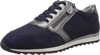 Jana Womens 8-8-23602-22 Low-Top Sneakers, Blue (Navy Comb 890), 6.5 UK