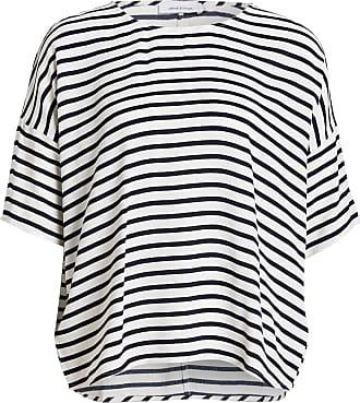 Samsøe & Samsøe T-Shirt MAINS - CREMÉ/ WEISS GESTREIFT