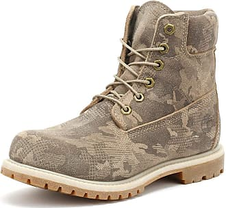 e496c8ace2fe Timberland Womens Pure Cashmere Camo 6 Inch Premium Boots-UK 5