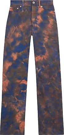 Fenty Puma by Rihanna Calça tie-dye com detalhe de fendas - Azul