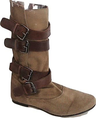 b2a7b4a0222ec Clarks Beige Real Suede Multi Buckle Ankle Boots - Size UK 4 (EU 37)