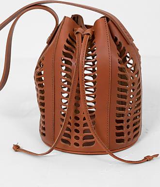 Modern Weaving Mini Jute Die Cut Bucket Terra
