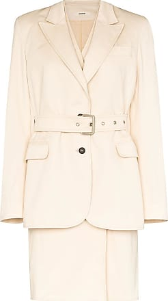 Zilver double layer belted trench coat - NEUTRALS