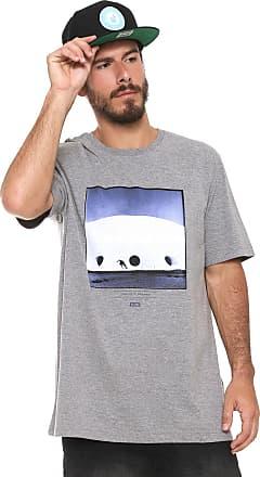 Globe Camiseta Globe Básica C.D Cinza