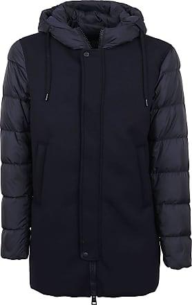 Herno Fashion Man PI0636U120049200 Blue Wool Down Jacket | Fall Winter 20