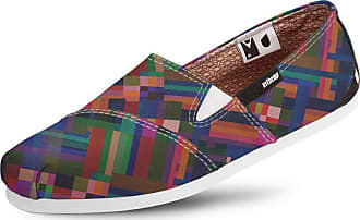 Usthemp Alpargata Usthemp Slim Vegano Casual Art Multicolor Colorido 37
