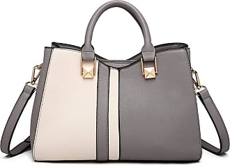 Quirk Contrast Shoulder Bag - Grey