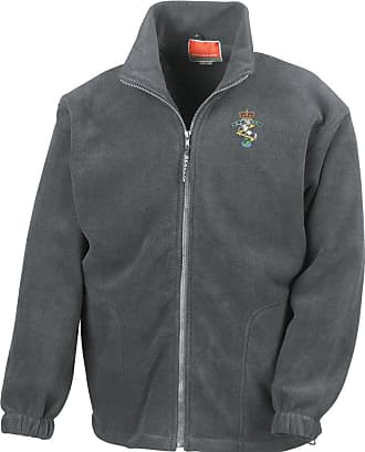 Military Online REME Royal Electrical Mechanical Engineers Embroidered Logo - Official British Army Full Zip Heavyweight Fleece Jacket