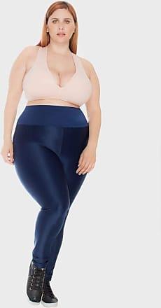 Vestem Calça Legging Zig Plus Size Marinho-48/50