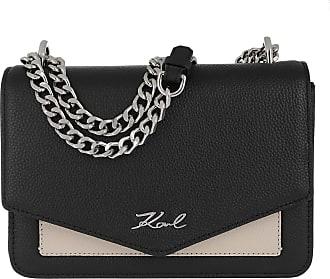 Karl Lagerfeld Pocket Shoulder Bag Black Umhängetasche schwarz