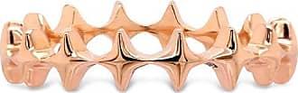 Vivara Anel Life Estrelas Com Banho Ouro Rosé