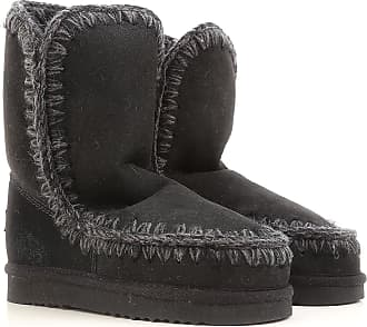 Mou Boots for Women, Booties On Sale, Black, suede, 2017, EUR 38 - UK 5 - USA 7.5 EUR 39 - UK 6 - USA 8.5
