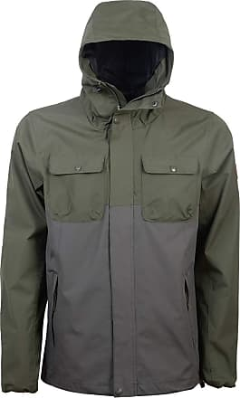 Crosshatch Mens Rainblock Waterproof Jacket Forest Night - X Large