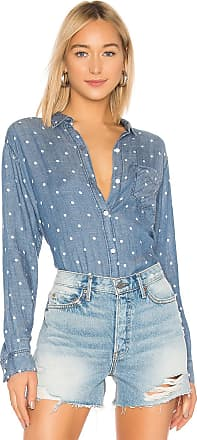 Rails Ingrid Button Down Top in Blue