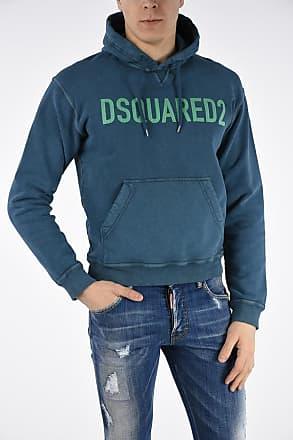 Dsquared2 Felpa DAN FIT Stampata con Cappuccio taglia Xl 6730d6209b94