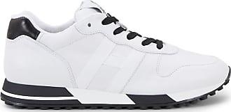 Hogan Sneakers H383, SCHWARZ,WEISS, 10.5 - Schuhe