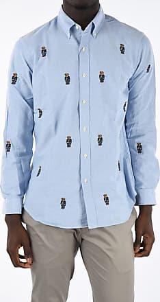 Polo Ralph Lauren Camicia Button-Down con Ricami Orsi taglia L