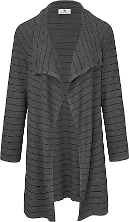 Peter Hahn Long cardigan in open-fronted style Peter Hahn grey