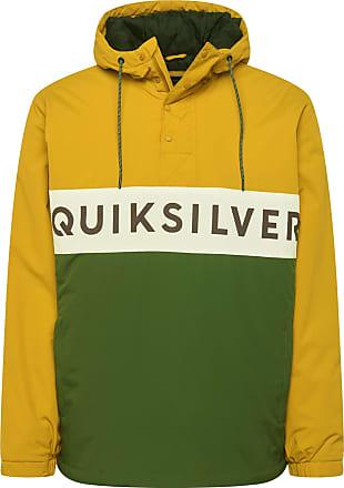 Quiksilver Veste de sport Newtazawa vert / moutarde