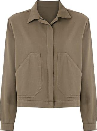 Osklen cotton trucker jacket - Green