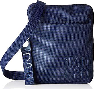 Mandarina Duck Womens Md20 Minuteria Shoulder Bag, 2.5 x 17.5 x 15 cm Blue Size: One size