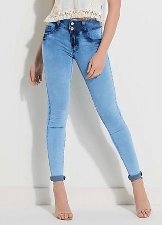 Quintess Calça Jeans Cintura Média