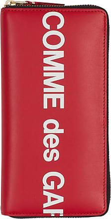 Comme Des Garçons Comme des garcons wallet Huge logo wallet RED U