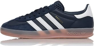 adidas Originals Gazelle Indoor, Collegiate Navy-Footwear White-Vapour Pink, 11,5