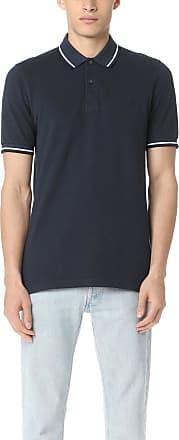Fred Perry Mens FP Twin Tipped Shirt T-Shirt, Blue (SERV BLU BLK OXF), Medium