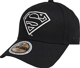 9cc4b8eb0e0 New Era Superman Glow in The Dark 9Forty Strapback Cap Black Youth  Jugendliche