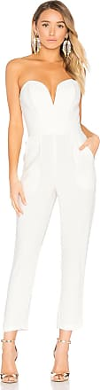 Amanda Uprichard Cherri Jumpsuit in Ivory