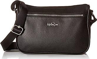 Kipling Callie Solid Pu Crossbody Bag, Black