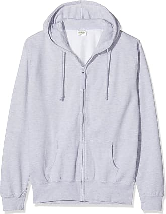 Awdis Womens Girlie Zoodie Hoodie, Grey (Heather Grey), 16 (Manufacturer Size:X-Large)