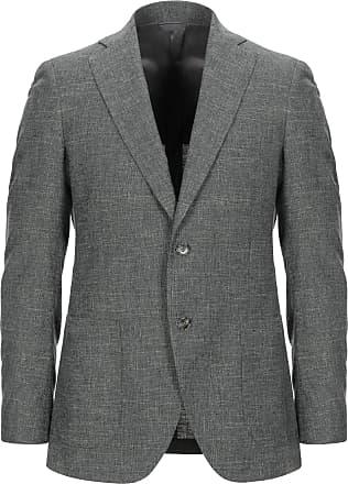 veste homme blanc casse tombolini coton et lin