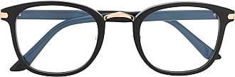 Cartier square frame glasses - Preto