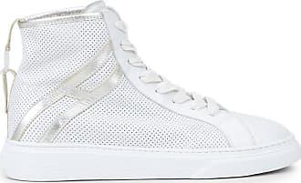 Hogan Hi-Top H365, SILBER,WEISS, 34.5 - Schuhe