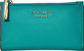 Kate Spade New York Spencer Small Slim Bifold Wallet Fiji Green One Size